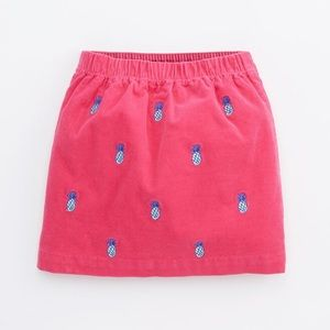 Brand new Vineyard Vines corduroy pineapple skirt